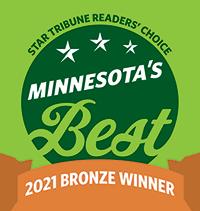 Minnesota Star and Tribune - Best of Minnesota 2021 Bronze Winner
